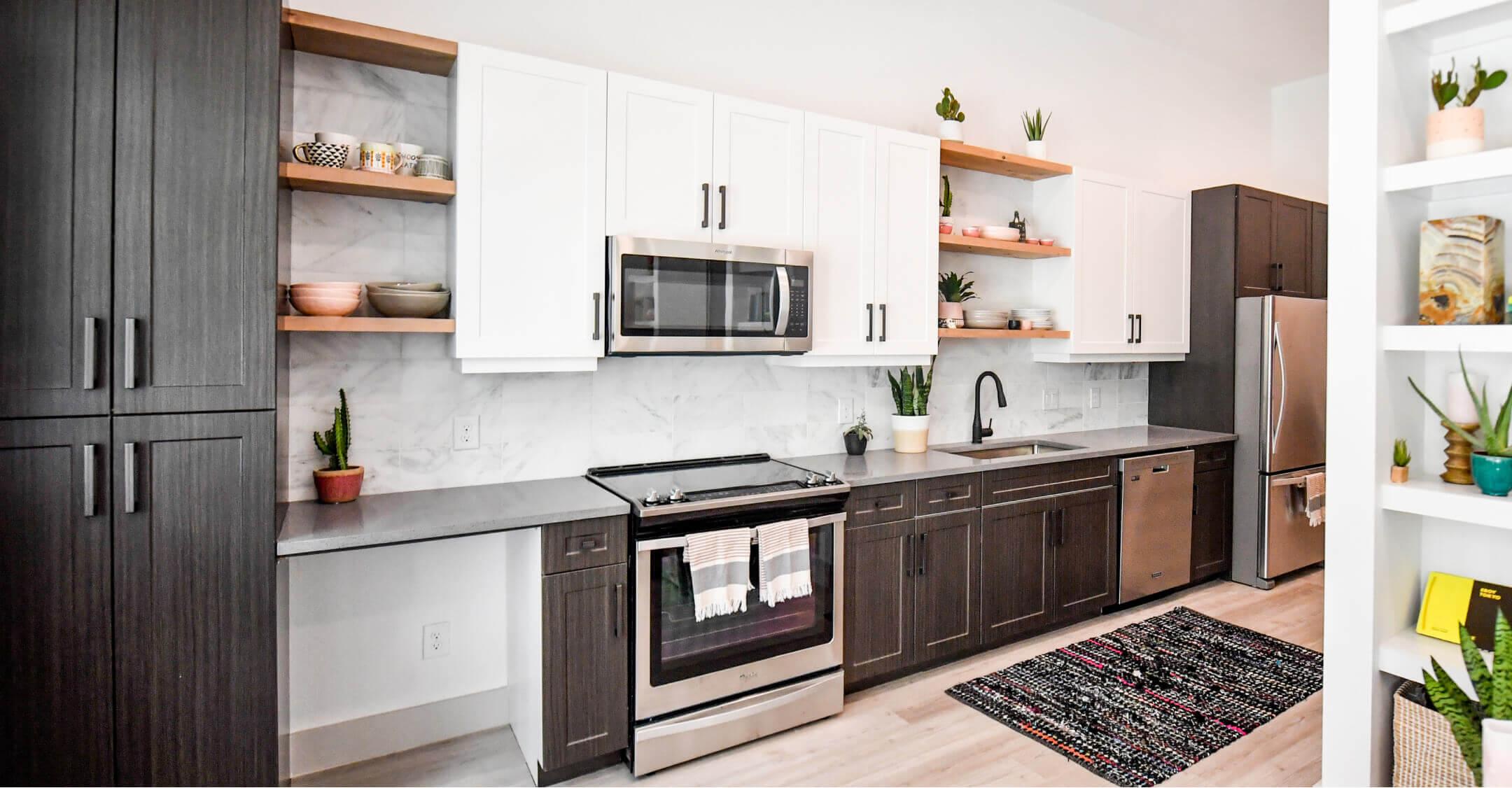 Image of Bishop North kitchen at Bishop Arts